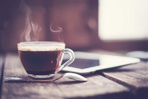 Gli effetti della caffeina.