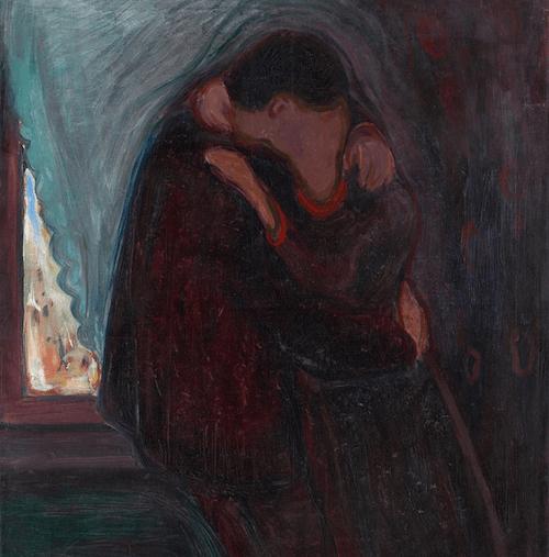 Il bacio di Munch.