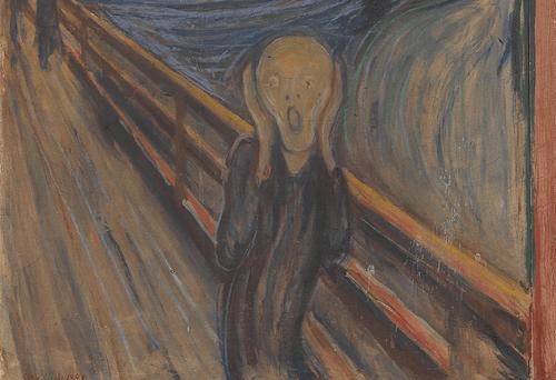 L'urlo di Edvard Munch.
