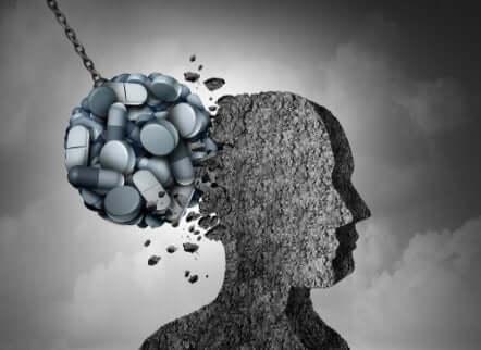 Effetti delle dinorfine sul cervello.
