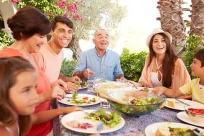 Tipi di famiglia: famiglia estesa.
