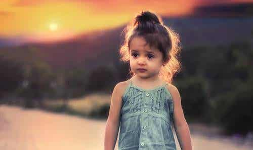 Bambina piccola.