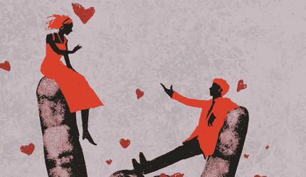 Coppia innamorata.