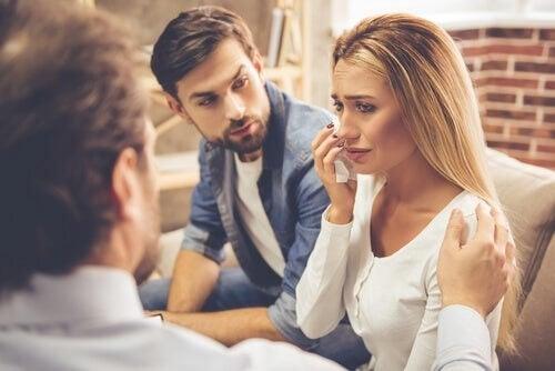 Prima seduta nella terapia di coppia
