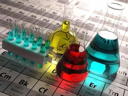 Laboratorio di chimica.