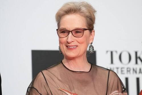 Meryl Streep come esempio di persona carismatica.