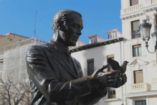 Statua di lorca.