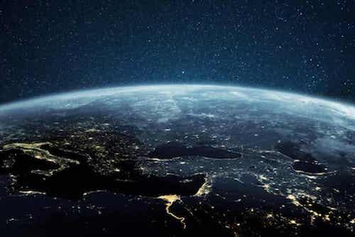 Foto della terra.