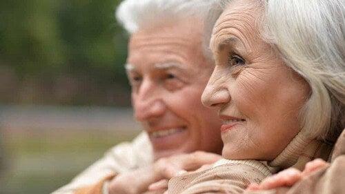La paura della morte da anziani.