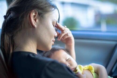 Madre con bambino.