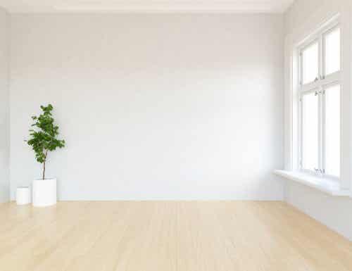 Creare una zona bianca in casa.