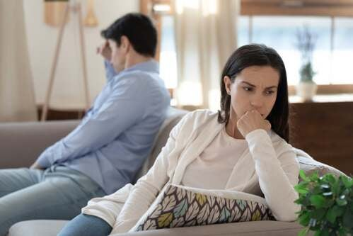 Smettere di comunicare con il partner