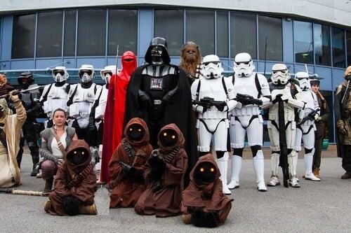 Fan di Guerre stellari.