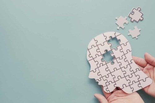 Puzzle della mente umana.