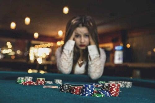 Donna e gioco di azzardo.