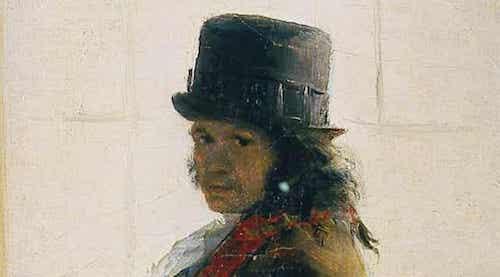 Autoritratto di Francisco Goya.