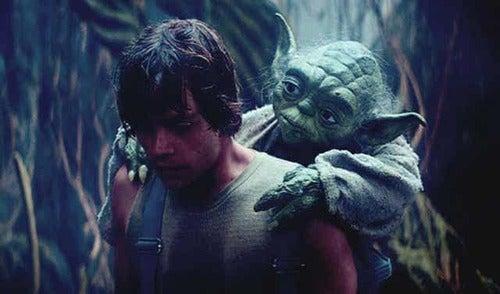Yoda e Luke