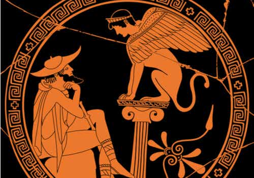 Illustrazione vaso greco.
