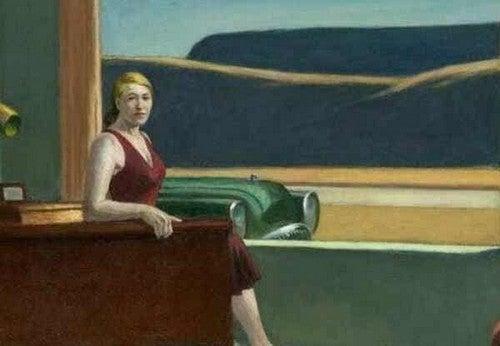 Dipinto di Edward Hopper.