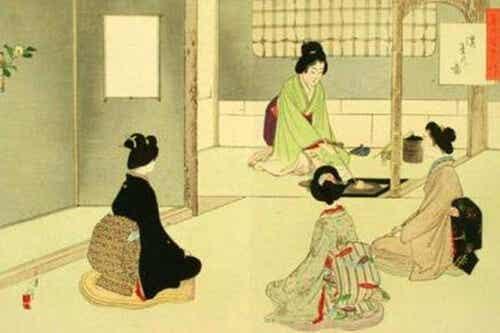Illustrazione giapponese.