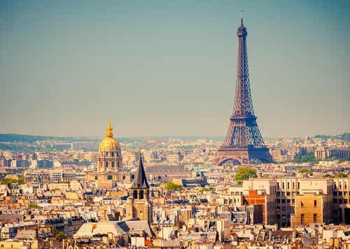 Vista di Parigi.