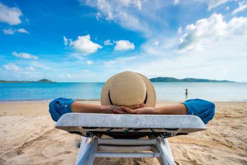 Periodo di vacanze e relax.