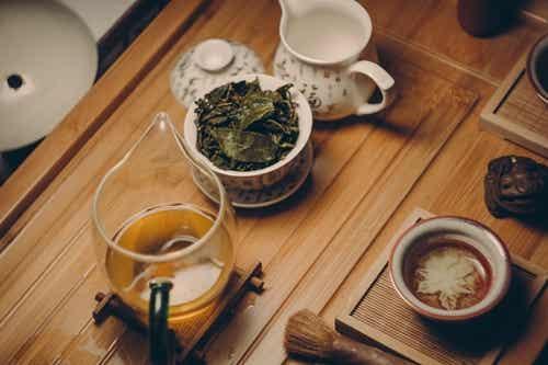 Servizio da tè.